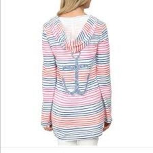 Like new! Lilly Pulitzer striped anchor hoodie XS